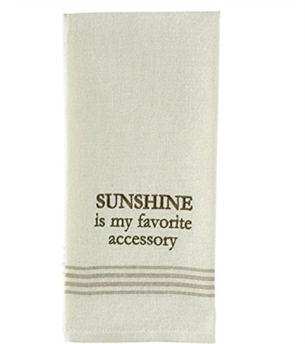 Park Designs Sunshine Is My Favorite Dishtowel - Cookware and (Halloween Dish Ideas)