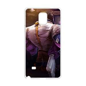 Samsung Galaxy Note 4 Cell Phone Case White League of Legends Mundo Mundo VB6995866