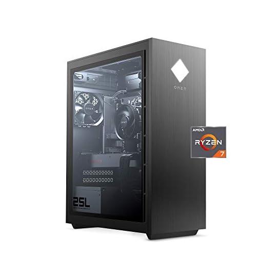 OMEN – GT12-0030 25L Gaming Desktop PC, AMD Radeon RX 5500, AMD Ryzen 7 3700X, HyperX 16GB DDR4 RAM, 512GB PCIe NVMe SSD…