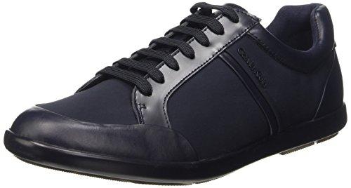 best website ecbe1 d1c13 shiny Darwin Calvin Klein Calf Homme Bleu Baskets mnt wHR6nRqx