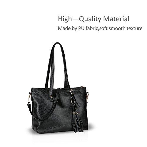 Shoulder Bags Doris amp; Black Crossbody Shoulder Pu Messenger Hand Nicole yRCHUZ4R