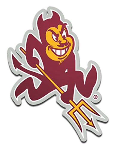 (Wincraft Arizona State University Sun Devils Premium Auto Emblem Decal, Hard Acrylic)