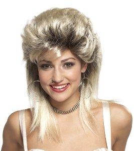 80s Rocker Groupie Wig
