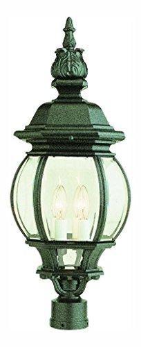 four-light-white-clear-beveled-glass-post-light