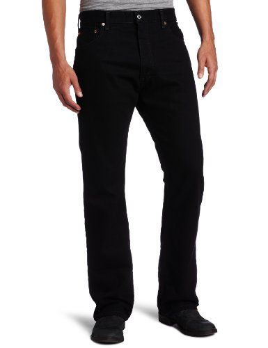 Levi's Men's 517 Boot Cut Jean, Black, 38x29 (Levis Loose Boot)