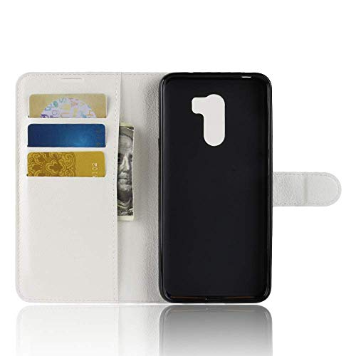 Price comparison product image MChoice Practical Fresh Cute Flip Wallet Leather Case Cover for Xiaomi Pocophone F1 (White)