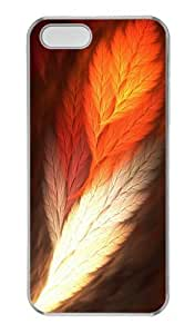 iPhone 5S Cases & Covers - Feather Art Custom PC Hard Case Cover for iPhone 5S and iPhone 5 - Transparent