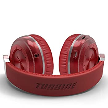 Bluedio T2 Plus Turbine Wireless Bluetooth Headphones With Micmicro Sd Card Slotfm Radio (Red) 3