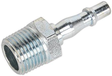 Sealey CAS15BSA 15mm x 1//2BSPT Brass Straight Adaptor