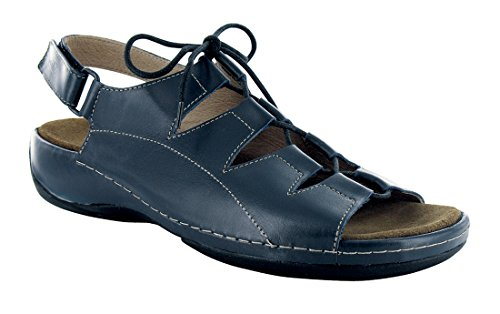 Wolky Women's Kite Navy Smooth Leather 40 European by Wolky