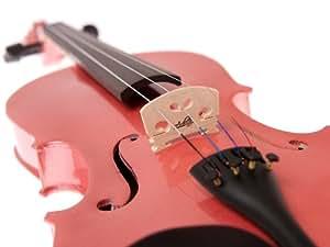 Amazon.com: Pink Violin 4/4 Full Size, Pink Violin Case