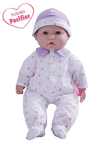 JC Toys, La Baby 16-inch Purple Washable Soft Baby Doll with Baby Doll Accessories - for Children 12 Months and Older, Designed by Berenguer (Best Dolls For Toddlers)