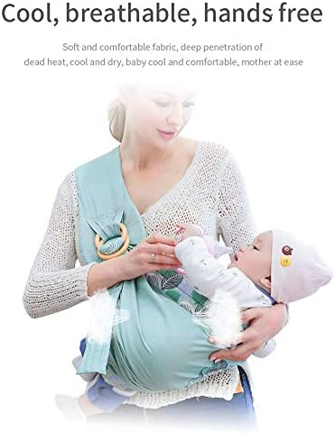WANGSCANIS /Étui confortable pour allaitement maternel extensible et artificiel avec anneau pour couches de b/éb/é vert, taille unique