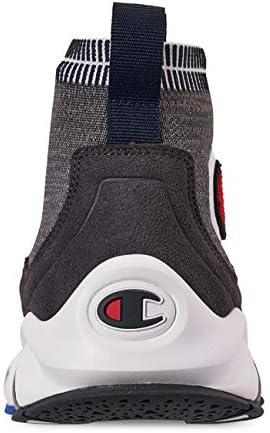 Champion Men's Rally Pro Big C Knit Sock Top Sneaker