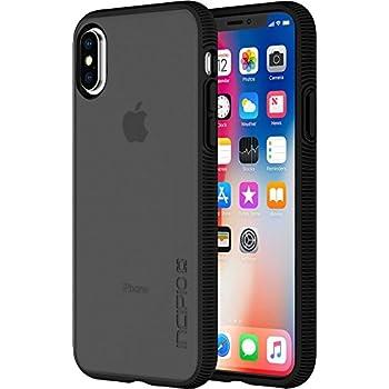 brand new 9bd53 231db Amazon.com: Incipio IPH-1629-BLK Apple iPhone X DualPro Case - Black ...