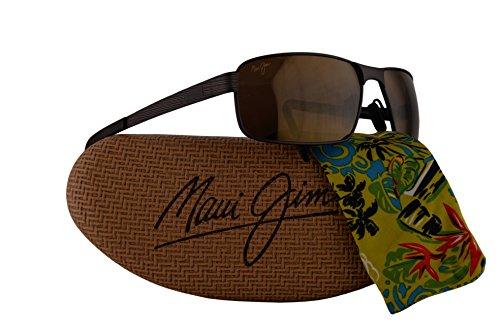 Maui Jim Castaway Sunglasses Matte Chocolate w/Polarized Bronze Lens - Sunglasses Sunshine Jim Maui