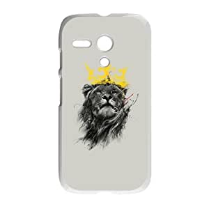 Motorola G Cell Phone Case White No King LFY Create Own Phone Case