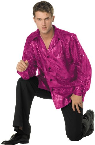 Plus Size Disco Inferno Shirt Only by RG Costumes