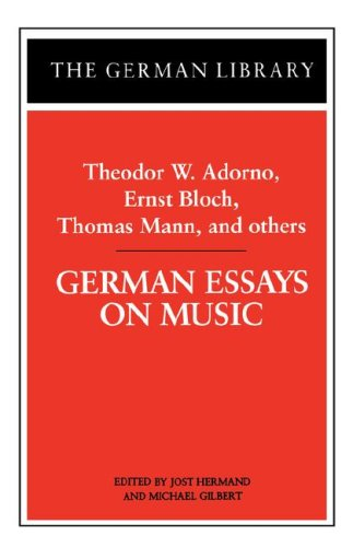 thomas mann essays Ii what can be said as to why thomas mann wrote this essay explores the motivation of thomas mann's writings by examining his creations and his own statements as to his creativity.