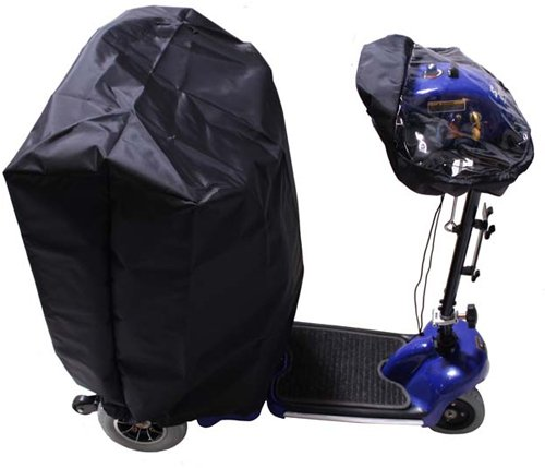 Diestco 2 Piece Scooter Seat and Tiller Cover Set