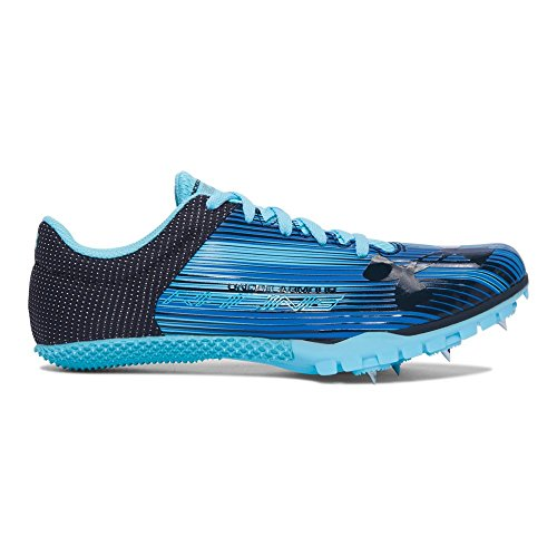 (Under Armour Women's Kick Sprint Spike, Venetian Blue, 7.5 B)