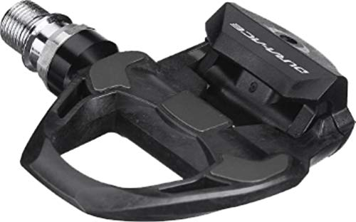 SHIMANO DURA-ACE PD-R9100 SPD-SL Pedal, 4mm Longer axle, Includes Cleat, Black, One Size