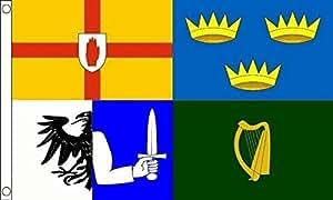 Massive Irlanda 4provincias bandera 8'x5' (240cm x 150cm)
