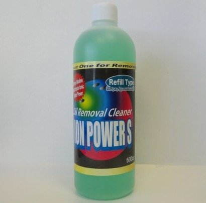 ION POWER S, Bowling Ball Cleaner, Refill 500cc (17oz)