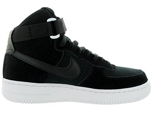 Nike Youth Air Force 1 High Jungen Basketballschuhe Schwarz-Weiss
