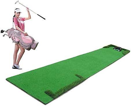 自己フィットネス ジム設備 機能的 LJALJJゴルフ屋内パターはエクセリターンデバイスグリーンミニ子供大人運動毛布0.5 * 3メートルを運ぶために簡単にブランケット
