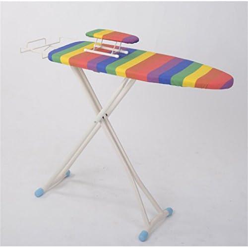 planche a repasser Planche à repasser pliable verticale Table à repasser Tube en acier Coton Durable Non-glissants Coloré Table à repasser (Couleur : #1)