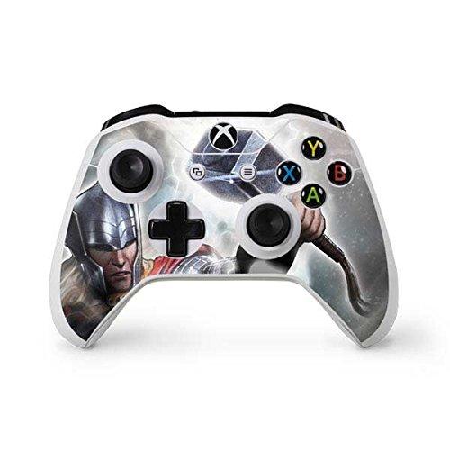 Marvel Thor Xbox One S Controller Skin - Thor Power Vinyl Decal Skin For Your Xbox One S Controller
