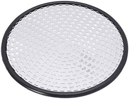 Cabilock 1 Stück Abdecklöcher Runder Bodenablauf Metallbodenablauf Balkonbodenablauf für Badezimmer zu Hause