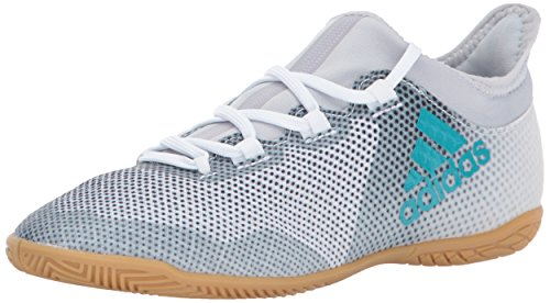 ac169b49c2 adidas Performance Boys' X Tango 17.3 in J Soccer-Shoes, White/Energy  Blue/Black, 4.5 Medium US Little Kid