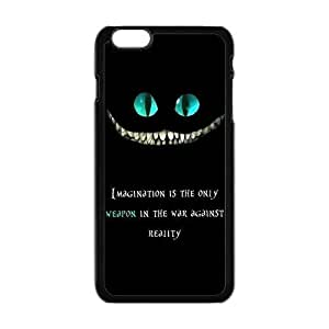 "Danny Store Hardshell Cell Phone Cover Case for New iPhone 6 Plus (5.5""), Cheshire Cat"