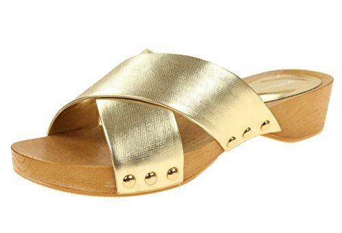 BCBGeneration Women's BG-Soho Dress Sandal (9.5, Y-Gold)