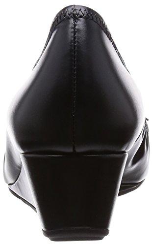 Black Waterproof Wedge Grand Bow Black Haan Tali Cole tzXFvqt