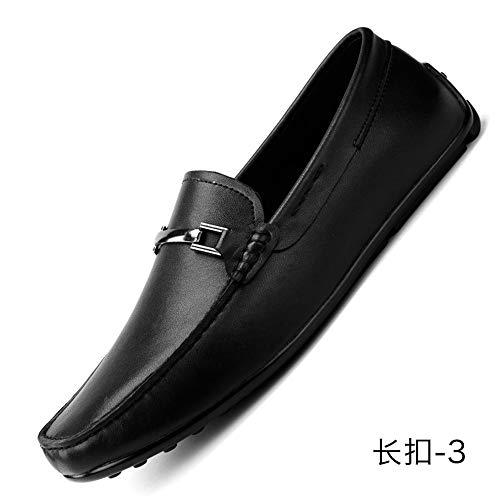 Loafer Slip Cricket 2 Nuovi Shoes Shoes Uomini Driving in On Mocassini Vera Pelle Black Scarpe da wfqYpgHq