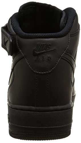 Nike Herre Air Force 1 Mid Basketball Sko Sort vIaMvbe47