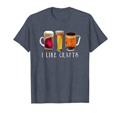 eer T-Shirt Large Heather Blue (Lager Beer Brands)