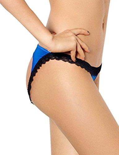 SEVEN STYLE - Tangas - para mujer Azul