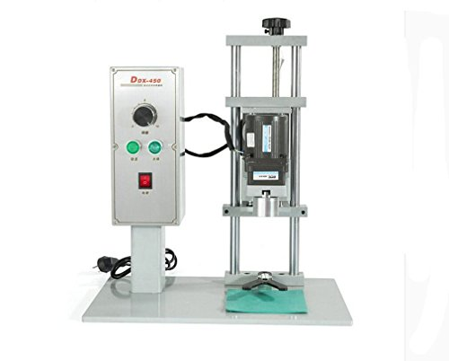 DDX-450 Electric Round Bottle Capping Machine Cap Locking/ Sealing Machine 110v/220v for Caps Diameter 10-50mm