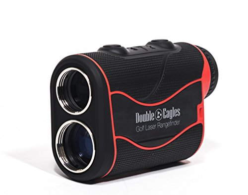 Double Eagles DEPRO-800 Golf Rangefinder – Laser Range Finder with Pinsensor – Laser Binoculars – Free Battery – Water Proof