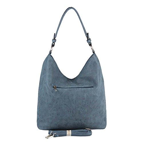 Foncé Bleu femme Noir Couture Sac Beautiful OBC à Only Noir main pour TqPvWv