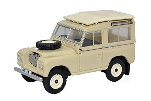 Oxford Diecast 76lr3s001 Land Rover Series Iii Station Wagon Limestone