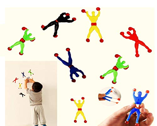 Climber Wall (Sticky Action Figure Rolling Men Wall Climbers 24 per pack)