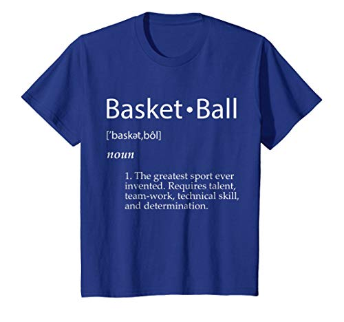 Basketball Definition T-Shirt - Men Women Youth Sizes Colors