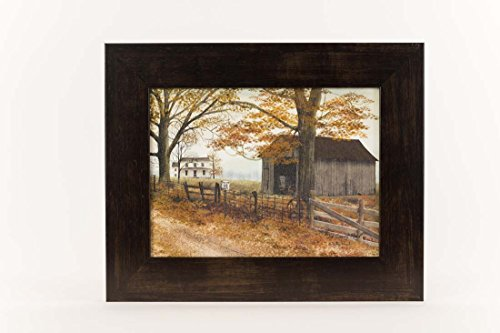 Primitive Framed Art (Old County Road Primitive Country Billy Jacobs Framed Art Decor 13x16