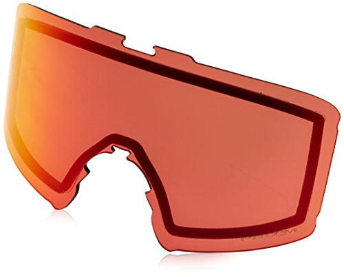 Oakley Men's Line Miner Snow Goggle Replacement Lens, Prizm Torch Iridium, Prizm Torch Iridium, - Snow Lenses Oakley Prizm
