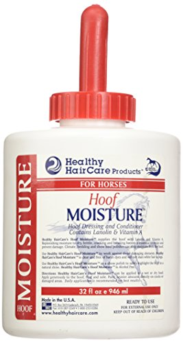 Healthy Haircare Brush Can Hoof Moisture Nutritional Supplements, 32 oz.